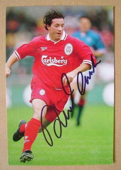 Robbie Fowler autograph