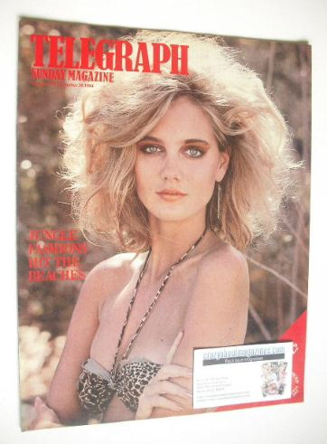 <!--1984-12-30-->The Sunday Telegraph magazine - Jungle Fashions cover (30