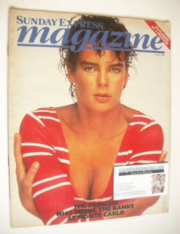 <!--1985-07-07-->Sunday Express magazine - 7 July 1985 - Princess Stephanie