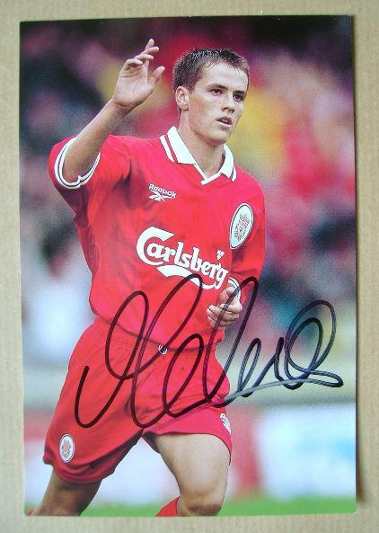 Michael Owen autograph