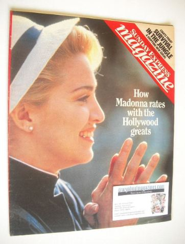 <!--1986-09-21-->Sunday Express magazine - 21 September 1986 - Madonna cove