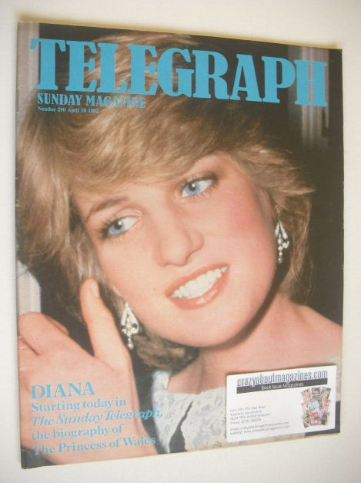 <!--1982-04-18-->The Sunday Telegraph magazine - Princess Diana cover (18 A
