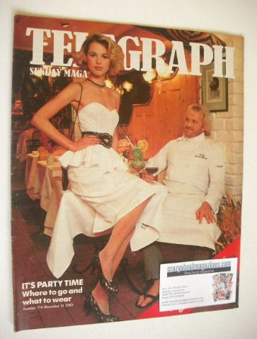 <!--1983-12-11-->The Sunday Telegraph magazine - It's Party Time cover (11
