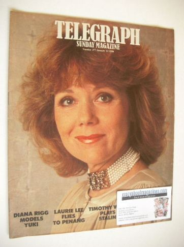 <!--1984-01-15-->The Sunday Telegraph magazine - Diana Rigg cover (15 Janua