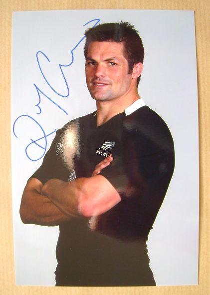 Richie McCaw autograph