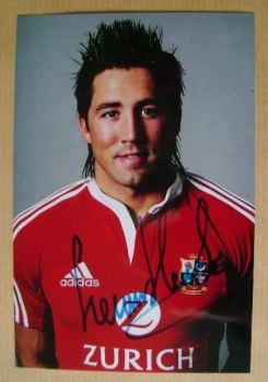 Gavin Henson autograph