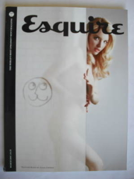 Esquire magazine - Talulah Riley cover (March 2010 - Subscriber's Issue)