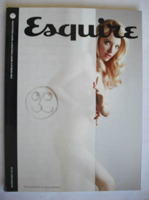 <!--2010-03-->Esquire magazine - Talulah Riley cover (March 2010 - Subscrib