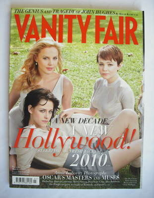 <!--2010-03-->Vanity Fair magazine - Fresh Faces of 2010 (March 2010)