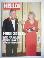 <!--2005-02-22-->Hello! magazine - Prince Charles and Camilla cover (22 February 2005 - Issue 855)