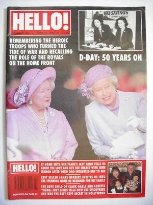 <!--1994-06-11-->Hello! magazine - Queen Elizabeth II and the Queen Mother