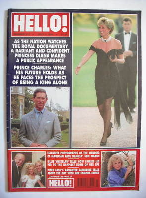<!--1994-07-09-->Hello! magazine - Princess Diana cover (9 July 1994 - Issu