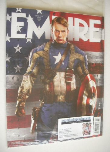 <!--2011-03-->Empire magazine - Captain America cover (March 2011 - Subscri