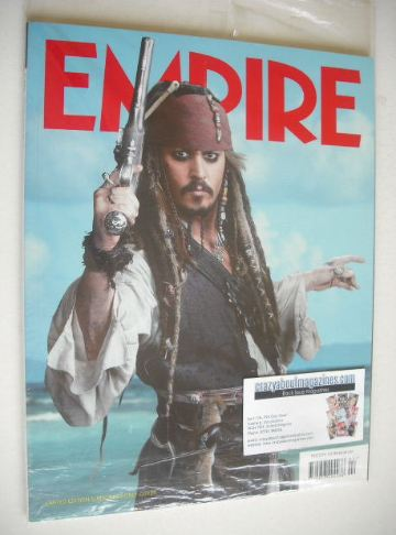 <!--2011-02-->Empire magazine - Johnny Depp cover (February 2011 - Issue 26