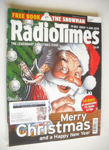 <!--2009-12-19-->Radio Times magazine - Christmas Issue (19 December 2009 -