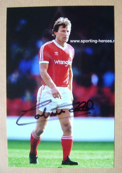 Colin Todd autograph