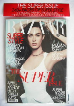 <!--2010-04-->Harper's Bazaar magazine - April 2010 - Megan Fox cover