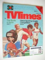<!--1980-03-15-->TV Times magazine - Sport cover (15-21 March 1980)