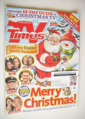 <!--2011-12-17-->TV Times magazine - Christmas Issue (17-30 December 2011)