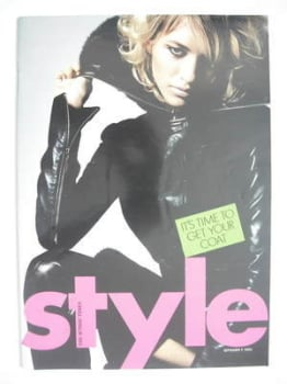 Style magazine - Sara Ziff cover (7 September 2003)