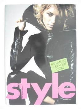 Style magazine - Sara Ziff cover (7 September 2003)