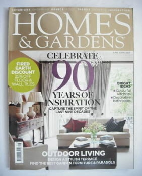 Homes & Gardens magazine - June 2009