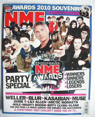 <!--2010-03-06-->NME magazine - NME Awards 2010 (6 March 2010)