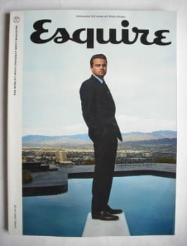Esquire magazine - Leonardo DiCaprio cover (April 2010 - Subscriber's Issue)