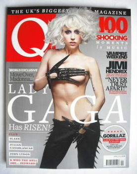 Q magazine - Lady Gaga cover (April 2010)