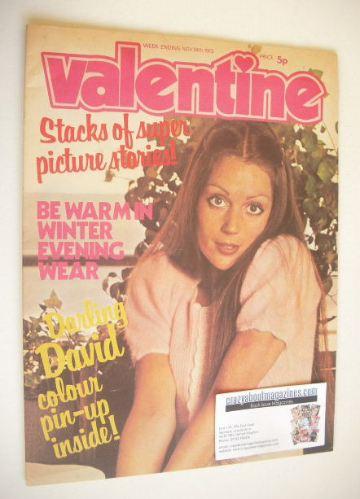 <!--1973-11-24-->Valentine magazine (24 November 1973)