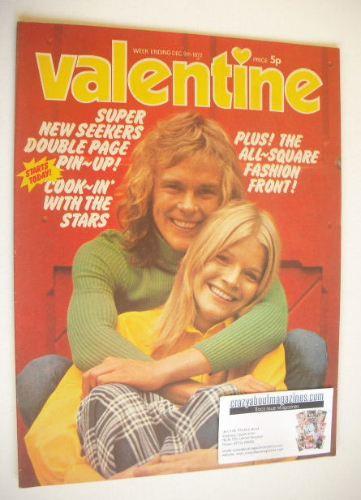 <!--1972-12-09-->Valentine magazine (9 December 1972)