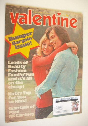 <!--1972-11-25-->Valentine magazine (25 November 1972)