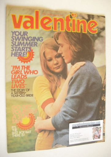 <!--1971-06-05-->Valentine magazine (5 June 1971)