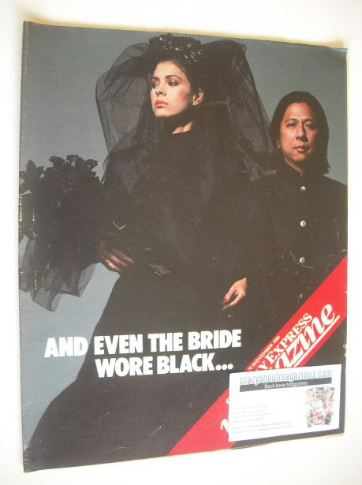 <!--1986-11-30-->Sunday Express magazine - 30 November 1986 - John Rocha co