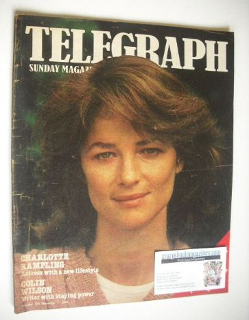 <!--1980-12-07-->The Sunday Telegraph magazine - Charlotte Rampling cover (