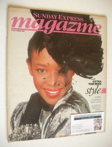 <!--1986-10-05-->Sunday Express magazine - 5 October 1986 - Naomi Campbell