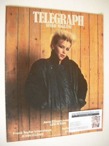 <!--1984-02-19-->The Sunday Telegraph magazine - Leslie Ash cover (19 Febru