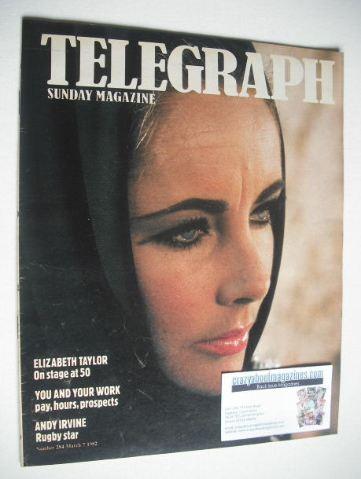 <!--1982-03-07-->The Sunday Telegraph magazine - Elizabeth Taylor cover (7