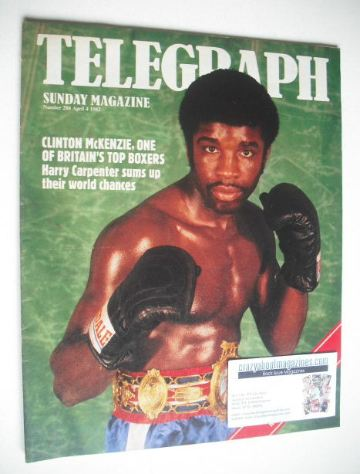<!--1982-04-04-->The Sunday Telegraph magazine - Clinton McKenzie cover (4