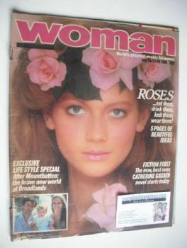 Woman magazine - Sophie Ward cover (10/17/24 July 1982)