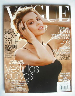 <!--2010-02-->Vogue Espana magazine - February 2010 - Kylie Minogue cover