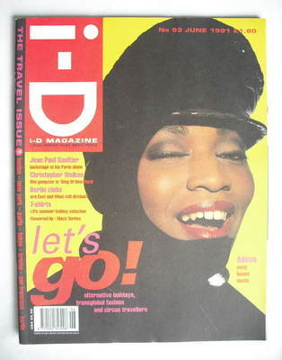 <!--1991-06-->i-D magazine - Adeva cover (June 1991)