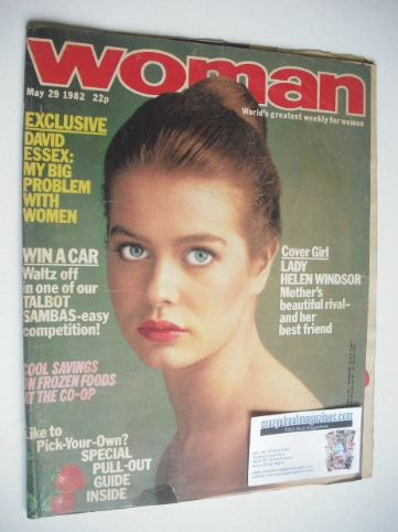 <!--1982-05-29-->Woman magazine - Lady Helen Windsor cover (29 May 1982)