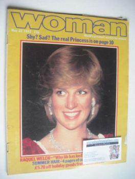 Woman magazine - Princess Diana cover (22 May 1982)