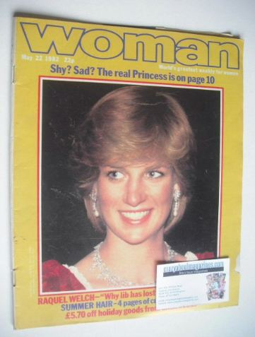 <!--1982-05-22-->Woman magazine - Princess Diana cover (22 May 1982)