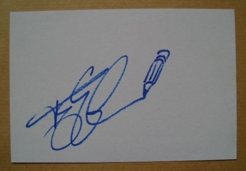 Terry Gilliam autograph (hand-signed white card)