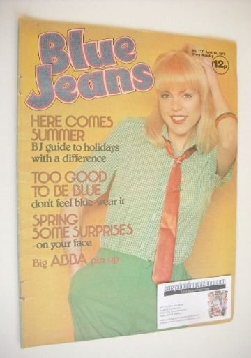 <!--1979-04-14-->Blue Jeans magazine (14 April 1979 - Issue 117)