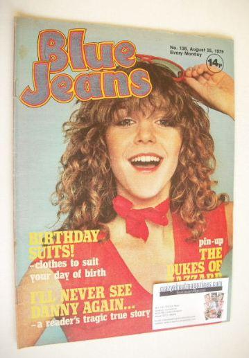<!--1979-08-25-->Blue Jeans magazine - Leslie Ash cover (25 August 1979 - I