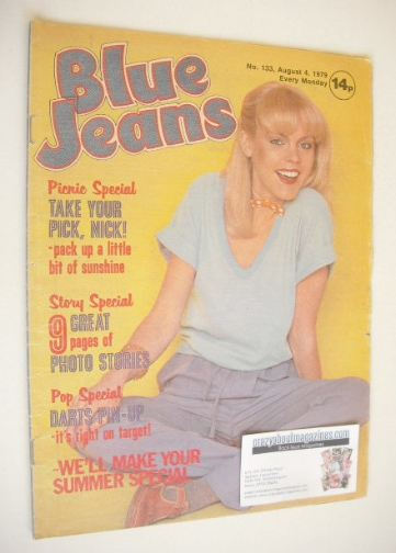 <!--1979-08-04-->Blue Jeans magazine (4 August 1979 - Issue 133)