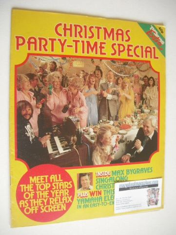 <!--1979-12-25-->TV Times Extra magazine - Party-Time cover (Christmas 1979